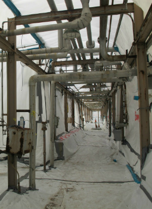 Example of asbestos abatement in Chicago, IL